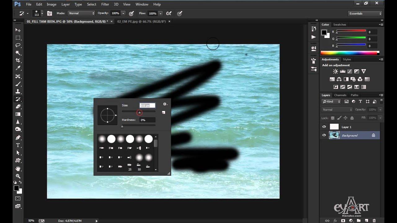 Bài 8A: Fill Màu Cho Đối Tượng Trong Photoshop