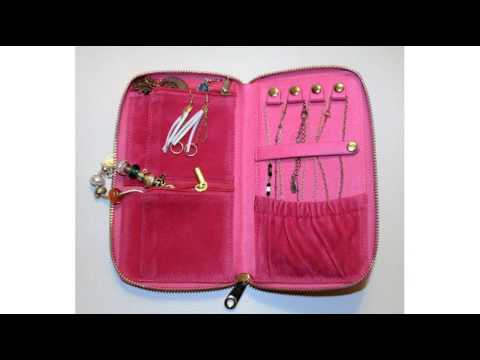 ChrisiL's Jewelry Travel Wallet