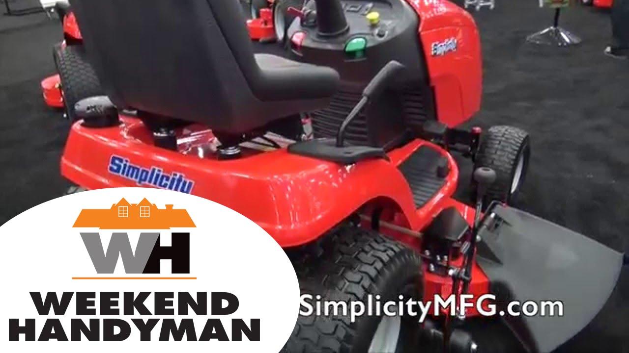Simplicity Regent Riding Lawn Tractor | Weekend Handyman | #SimplicityMower