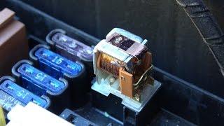 Tester un relais - Tester le relais et ses circuits