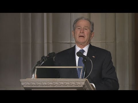 George W. Bush eulogy at George H.W. Bush funeral: Full speech