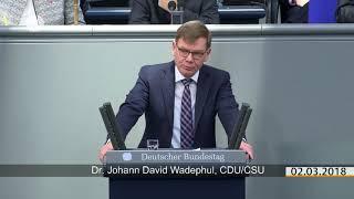 Unionspolitiker zu Putins Raketen Plänen und INF Debatte im Bundestag