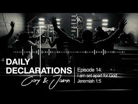 Daily Declarations #14: I AM SET APART FOR GOD