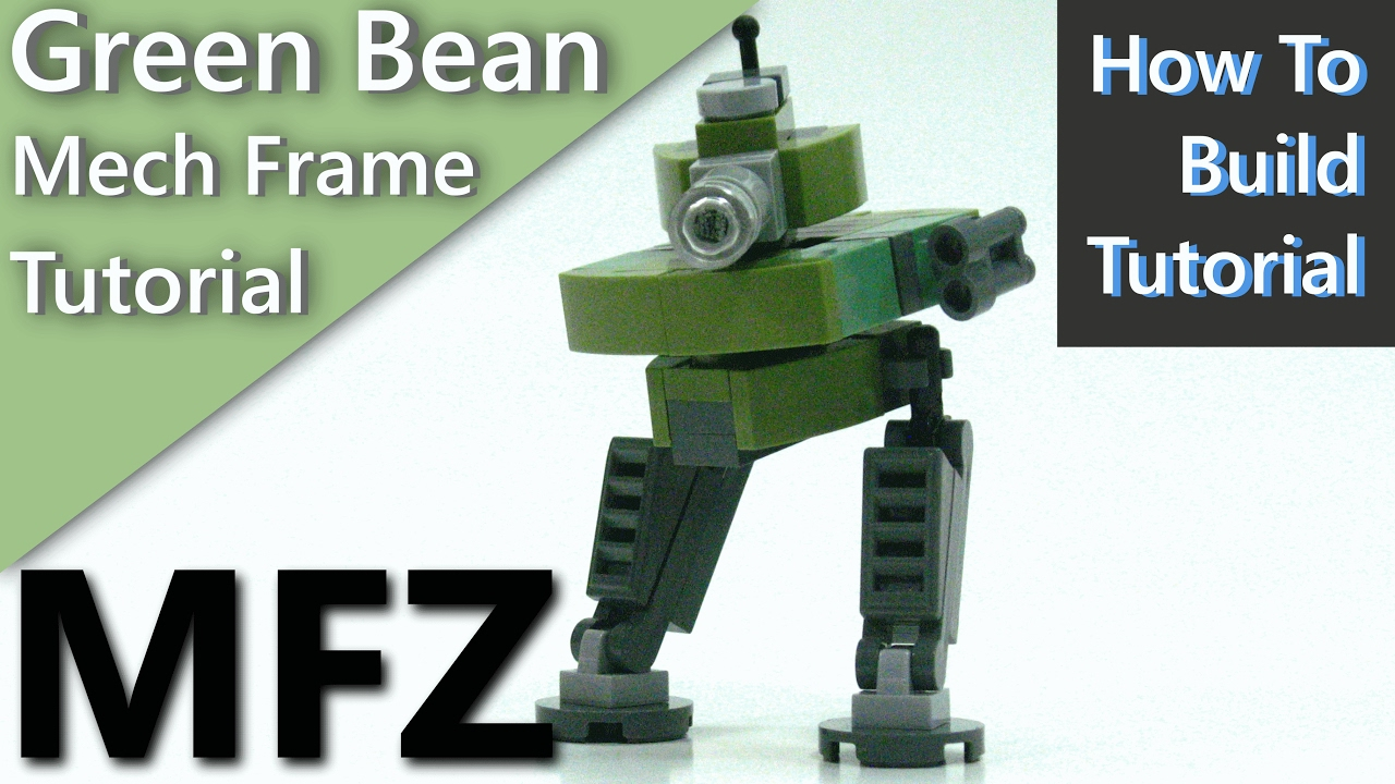 MFZ Tutorial) \'Green Bean\' A Tank Mech Frame for Mobile Frame Zero ...