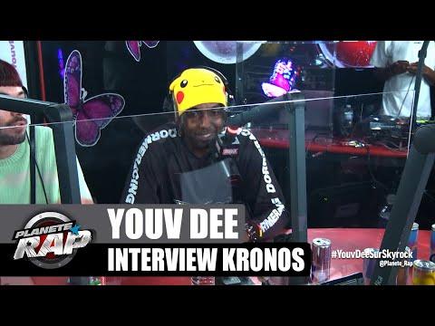 Youtube: Youv Dee – Interview Kronos: ses tatouages, le retour d'ODP, Drake ou One Piece… #PlanèteRap