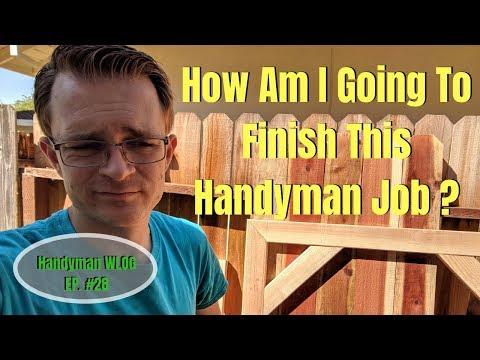 Can I Finish This Handyman Job? / WLOG