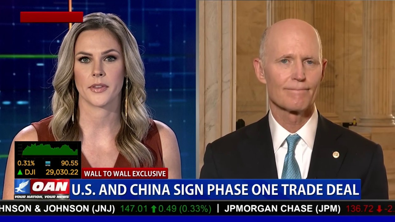 Wall to Wall: Greta breaks down 'Phase One' China trade deal with Sen. Rick Scott