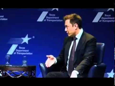 Elon Musk in Detroit, the lions den (2015)