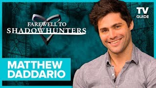 Farewell to Shadowhunters: Matthew Daddario Breaks Down That Malec Proposal