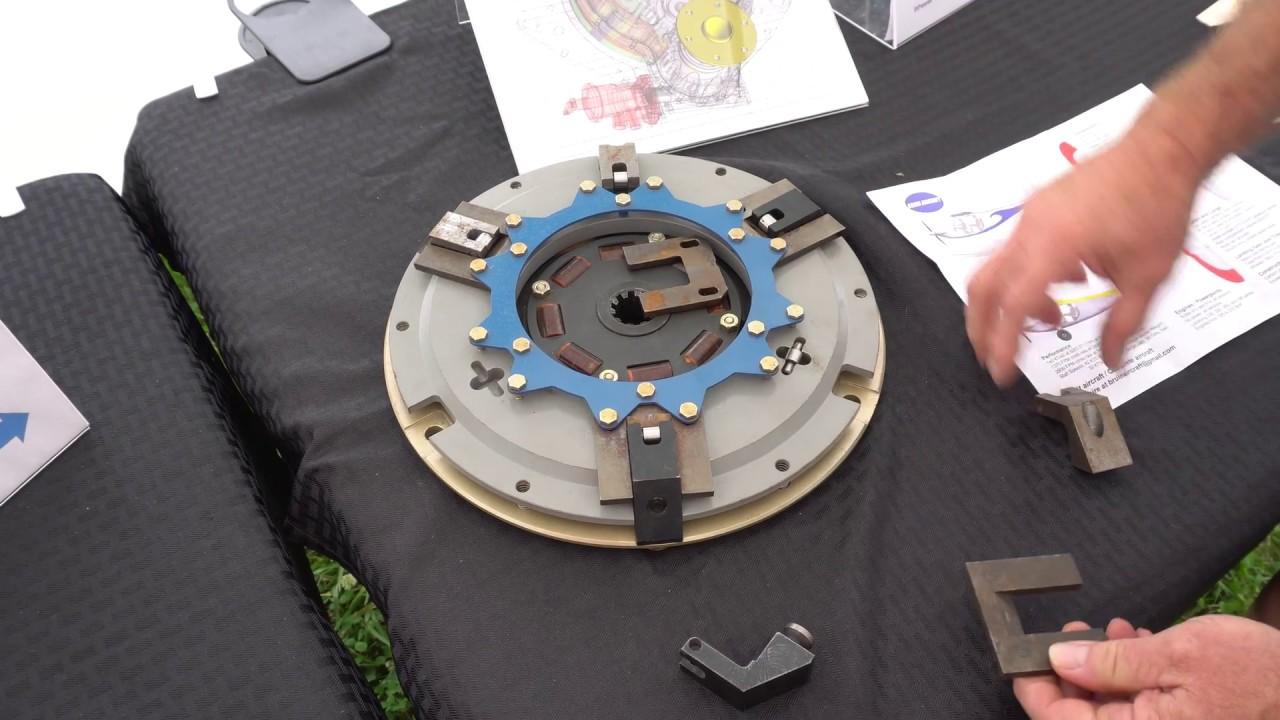 Clutch Assembly on Auto PSRU's LS3 V8 Aircraft Engine
