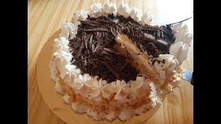 Recette facile du gâteau à la crème-- gâteau économique (pas cher )