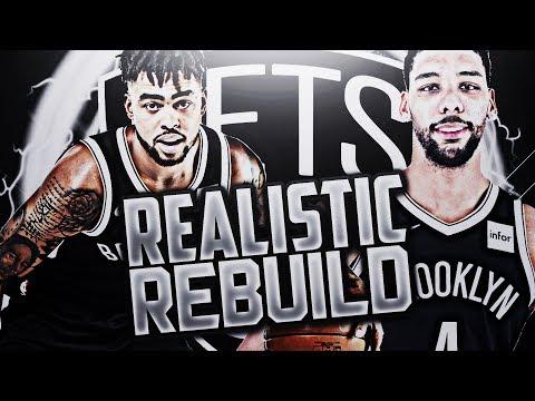 HARDEST REBUILD!? NETS REALISTIC REBUILD!! NBA 2K18