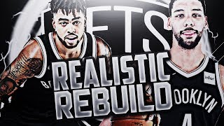 HARDEST REBUILD!? NETS REALISTIC REBUILD!! NBA 2K18 2017 Video