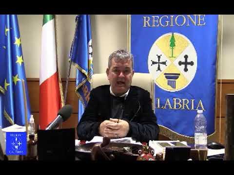 Regione Calabria, Spirlì parla del nuovo commissario Gaudio (Video)