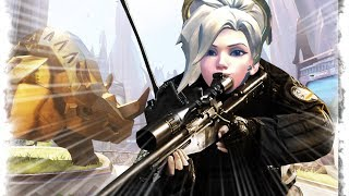 Mercy The Best Sniper | Overwatch Best and Funny Moments - Ep.89