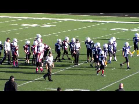 2014 Ozark Football Association Patriots 12-6 win vs. Wells Fargo Mustangs on 10/4/14 #3-1