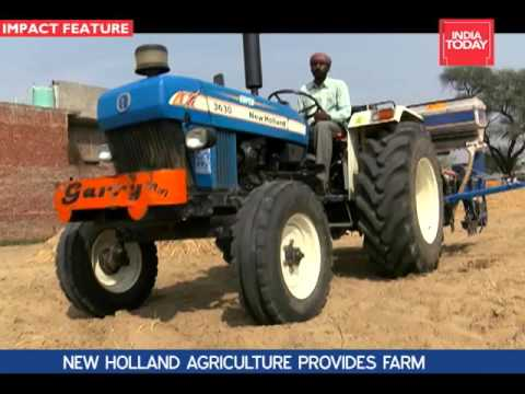MAKE IN INDIA-  NEW HOLLAND AGRICULTURE