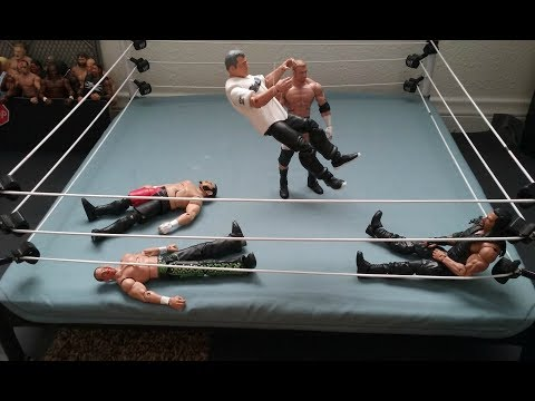 WFW: Royal Rumble 2017 (Season 4) StopMotion (Glitch Fixed)