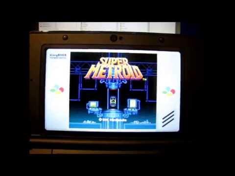 New 3DS firmware 9 9 0 NINJHAX 2 0 SNES Emulator Gameplay