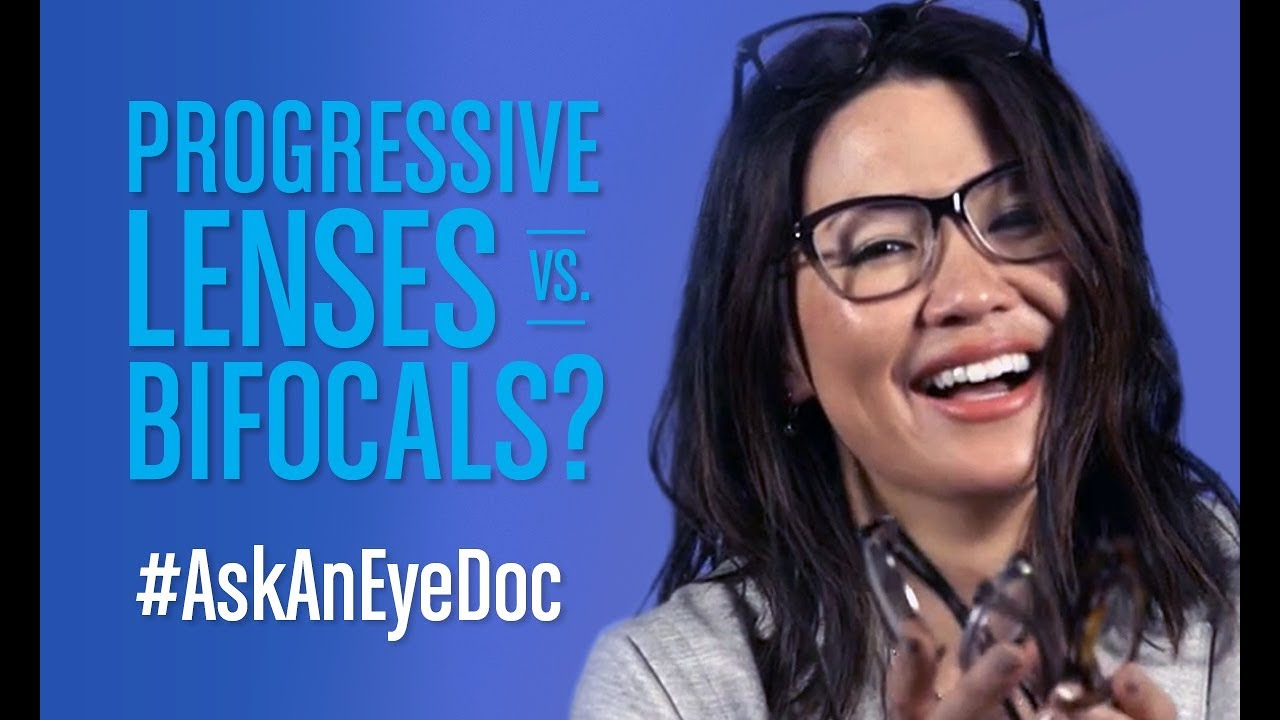 Ask An Eye Doc: How are bifocals different than progressive lenses? image