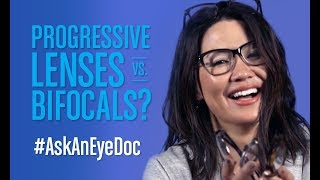 Ask An Eye Doc: How are bifocals different than progressive lenses? Video