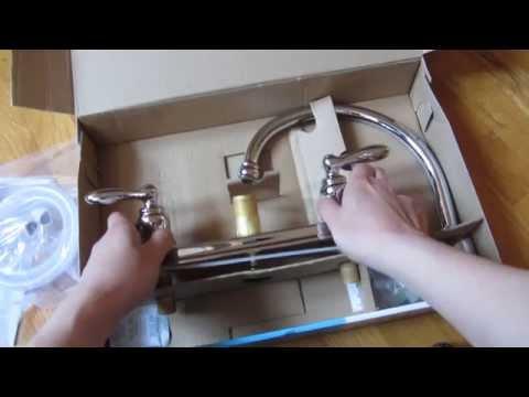 Moen Caldwell Kitchen Faucet Chrome Model Ca87888 Unboxing