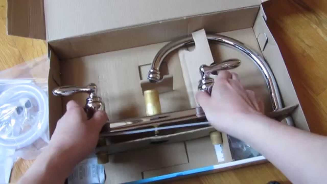 Moen Kitchen Faucet Models | Moen Caldwell Kitchen Faucet Chrome Model Ca87888 Unboxing Youtube
