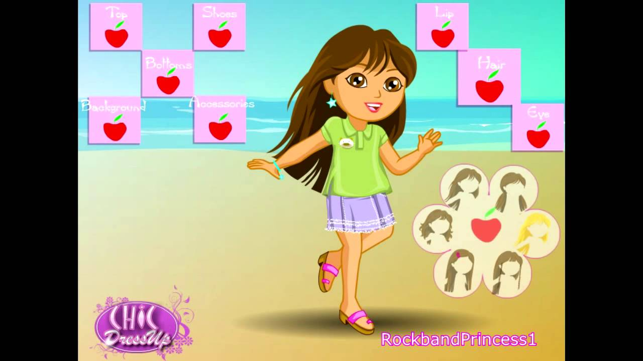 Dora The Explorer - Dora Grown Up Dress Up Game - Dora ...