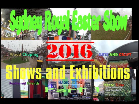 Part1/2 | SHOWS AND EXHIBITIONS | 2016 Sydney Royal Easter
