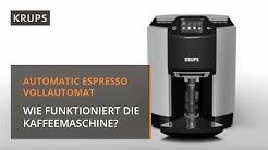 Tipps für die Bedienung eines Espresso-Kaffee-Vollautomaten | Krups