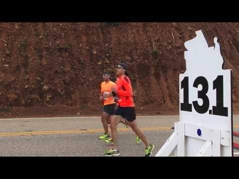 Michael Martinez at the Big Sur International Marathon