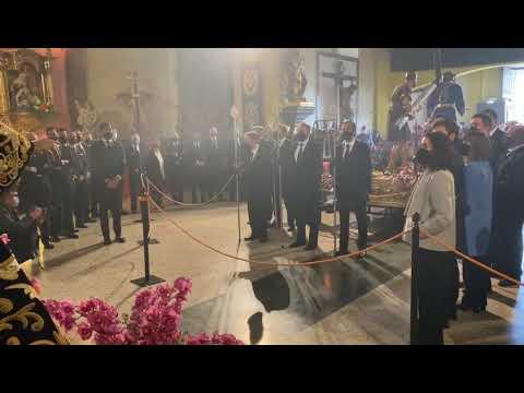 Semana Santa León 2021 - Recreación del Acto del Encuentro