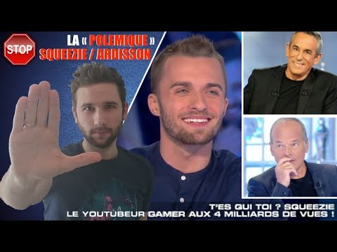 LA « POLEMIQUE » SQUEEZIE / ARDISSON | STOP AU BUZZ & REACTION !