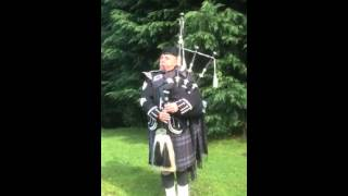 Pipe major Iain grant