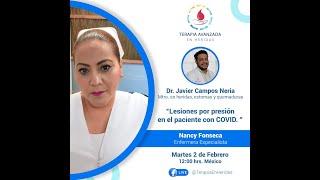 Lesiones por presión en el paciente con COVID. Enfermera Especialista Nancy Fonseca.