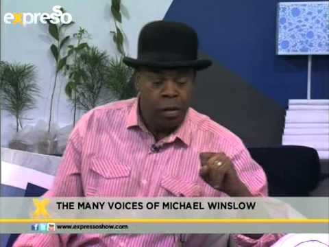 The many voices of Michael Winslow (07.09.2012)