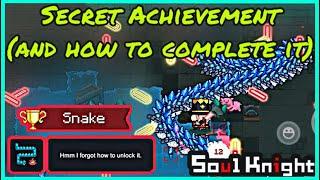 New Secret Achievement: Snake …