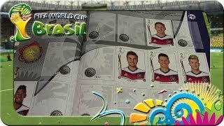 Panini Fifa World Cup Brasil 2014 Sticker Album Update (Deuschland)