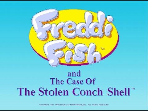 Freddi Fish 3: The Case Of The Stolen Conch Shell Full Walkthrough