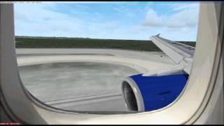 Ocean view landing Cancun FSX in HD