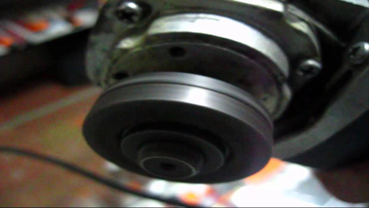 Угловая шлифмашина DWT WS-125 L. Обзор инструмента - YouTube