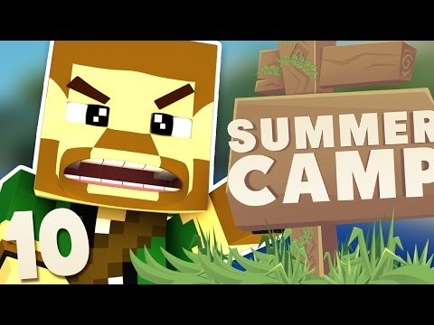 Minecraft | PROTECTING OUR ISLAND!! | Summer Camp #10
