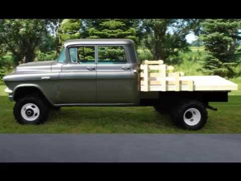 1955 Gmc Crew Cab Dually Youtube
