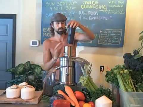 JUICE CLEANSING CLASS at THRIVE in SEATTLE!