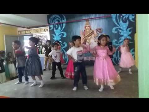Itti si hansi dance by Ukg kids