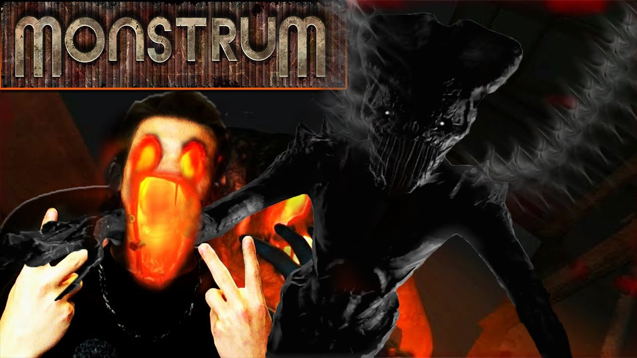 Monstrum Funny Moments & Horror Reactions Compilation