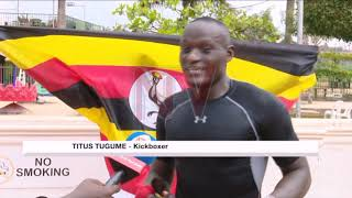 Kickboxer Tugume bracing for intercontinental duel with Williams