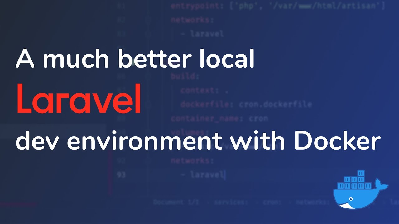 A much better local Laravel dev environment with Docker
