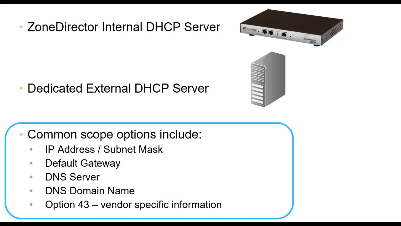 DHCP, DHCP Option 43 and DNS Considerations