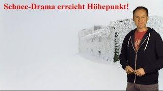 Extremes Unwetter: Schnee-Drama erreicht in den Alpen seinen Höhepunkt! (Mod.: Dominik Jung)